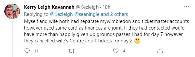Many fans now feel like they have been cheated, with their cancellations only coming through when ticket sales had ended