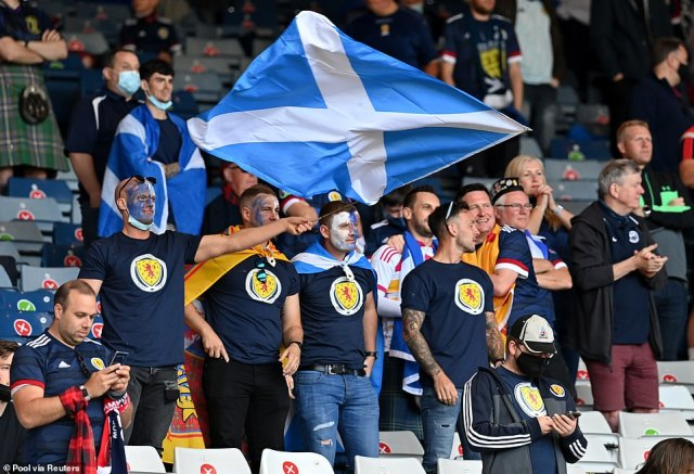 The Tartan Army will be in fine voice tonight for the game, which could be a historic moment in the history of Scottish football