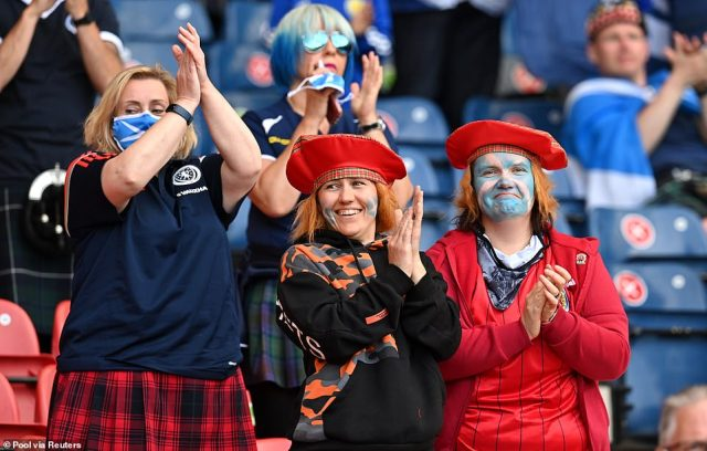 It is a big night for Scotland, who could qualify for the knock-out stages of Euro 2020 if they can secure a result against Croatia