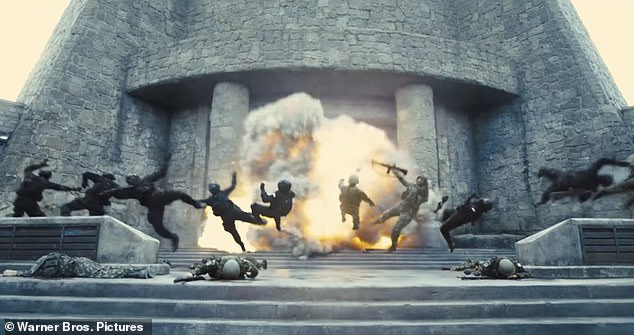 Boom!The trailer then reaches a crescendo as the members of the Squad fight on screen, blowing up buildings and taking down Project Starfish