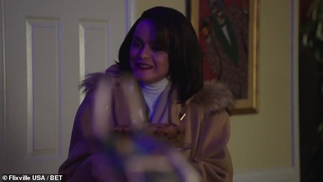 Dinner:They invite Karen over for dinner, as Karen inappropriately mentions Imani is, 'slaving away in the kitchen'