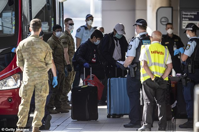 Anyone entering Queensland who had been in the seven Sydney councils designated as high-risk will be forced to enter hotel quarantine from 1am Wednesday