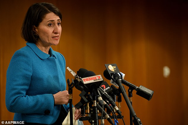 Ms Berejiklian said she wouldn't rule out bringing in further restrictions or going into hard lockdown