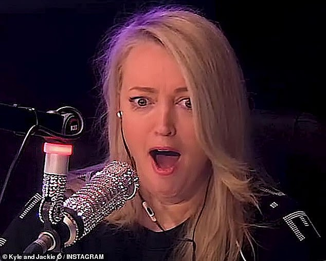 Vile: A 'corporate Karen' - known only as Susan - called in to complain about 'smelly' tradies, saying they should be kept 'out of sight' when visiting offices and even banned from using the main elevators. Radio host Jackie 'O' Henderson (pictured) was appalled by the remarks