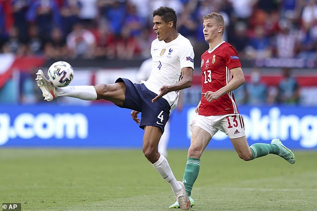 Manchester United have held a long-term interest in French centre back Raphael Varane
