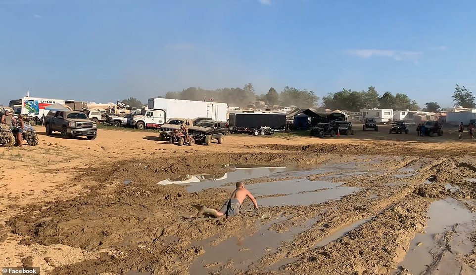 Redneck Rave organizer Justin Stowers boasted that the festival was the 'coolest thing I've ever seen in my life'.Despite the havoc the event caused, Stowers thanked the police and fire departments for 'working with us to make every thing run as smooth as we can'