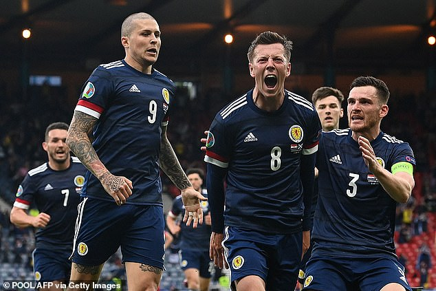 Callum McGregor's strike against Croatia was Scotland's only one of the entire tournament