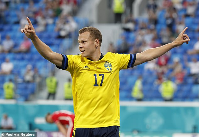 It was winger Viktor Claesson who had the last laugh though as Sweden finished above Spain