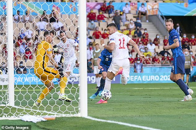 Spain's fourth goal was the standout moment of the game, with Ferran Torres finishing off an excellent team move via a back-heel