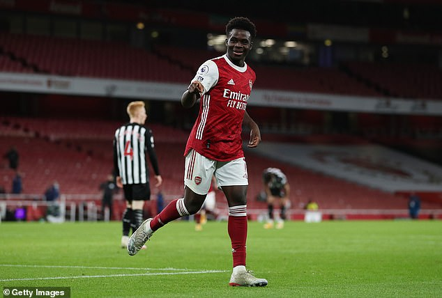 The 19-year-old has become a key player for Arsenal and is loved by coaches at his club