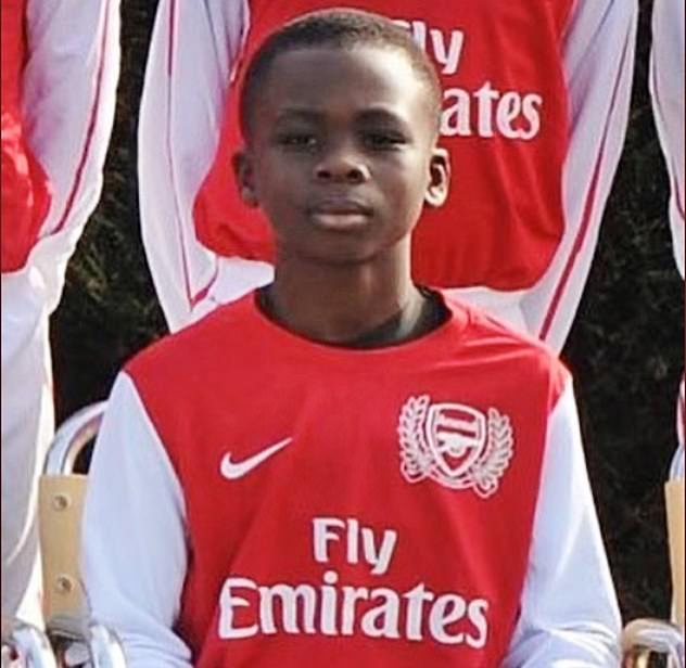 Saka joined Arsenal as a seven-year-old and is the perfect poster boy for their academy