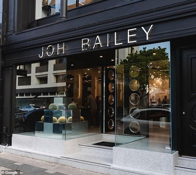 Joh Bailey's Double Bay hairdresser has been listed as a location for a potential superspreader event - putting hundreds of people at risk of infection