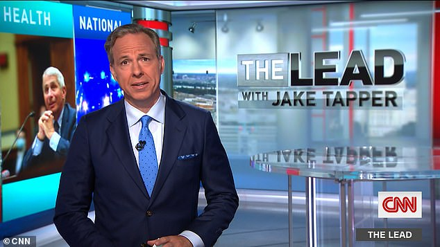 Jake Tapper, of CNN, mentioned Hunter in the context of another story about him selling his art to unnamed bidders - but did not reference the credit card story