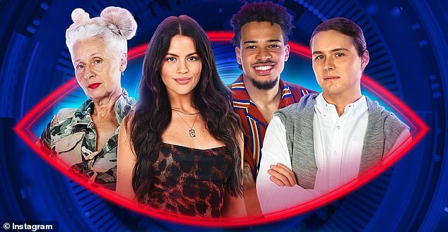 Who will win? Sarah Jane, Christina, Marley and Ari (pictured left toright) are the final four. They are in the running for the $250,000 cash prizeafter more than 60 days in the Big Brother house