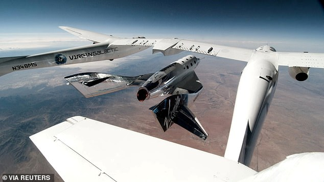 Originally that 'fully crewed' test flight would have involved members of Virgin Galactic staff testing out the cabin and seats to ensure it operates as expected
