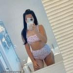 Cara De La Hoyde slips into a floral bikini for a mirror selfie 💥👩💥