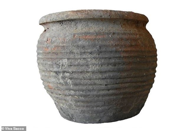 An analysis on residue taken from 1,120-year-old cooking pots found in Sicily shows those living in rural areas ate the forbidden meat pork, along with dairy products and grapes