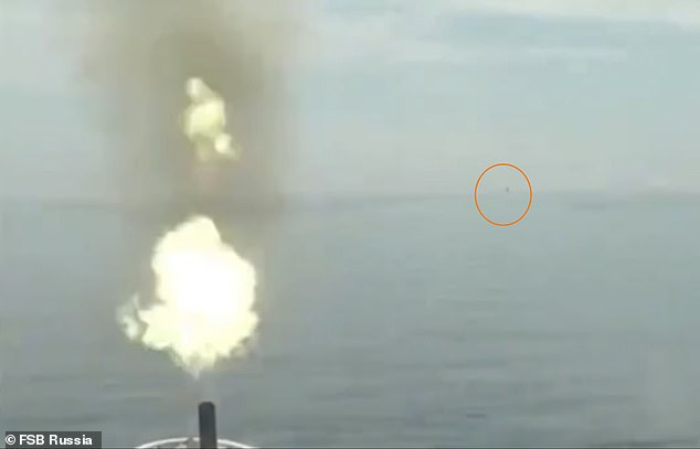 Amid a sign of rock-bottom relations with the west, a Russian gunboat fired warning shots at a British destroyer earlier this week after claiming it strayed in Russian waters near Crimea