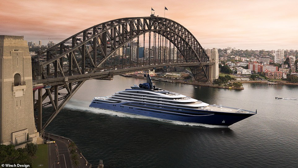 Somnio will be the largest yacht in the world, by both length and volume, and powered by the latest clean engine technology