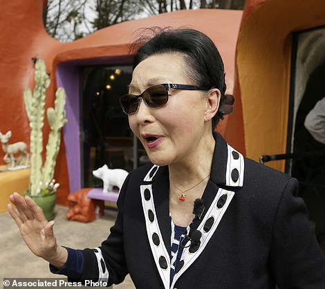 Retired publishing mogulFlorence Fang defended her colorful, bulbous-shaped house and its elaborate homage to the 1960s cartoon, but local town officials disagreed sued her in 2019 for the 'eyesore'