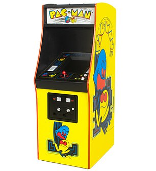 Iconic: The most successful arcade game of all time, Pac-Man involved a lovable yellow eating machine tasked with devouring pellets in a maze-chase phenomenon first released in 1980