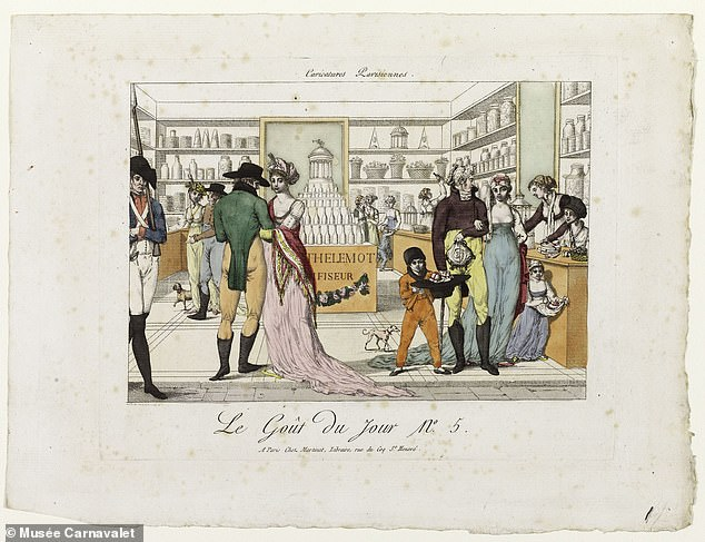 It was in the chocolate chop that pimp Adrien-Hippolyte Odier discovered her and she was enlisted as a working girl