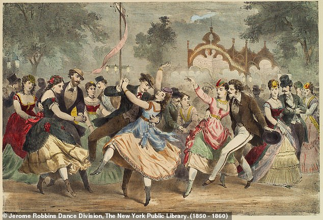 Many of the women in the ledger rose to become extremely wealthy and famous in their own right - wielding power in the French capital through the men they bedded