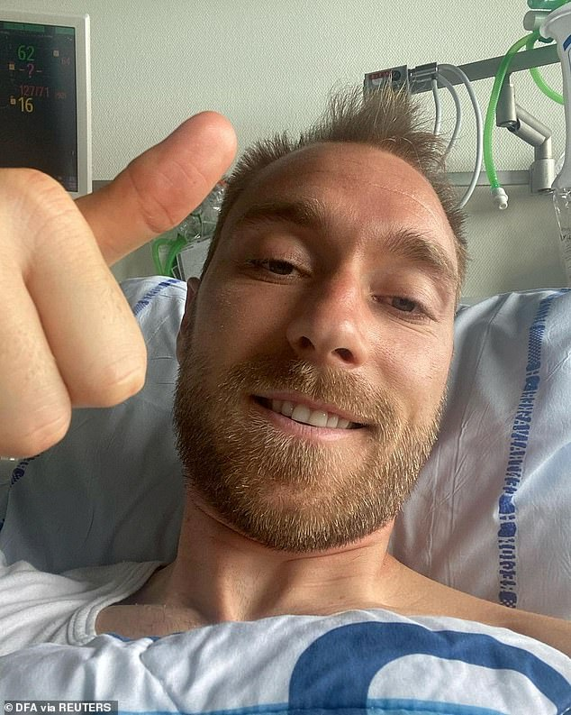 Christian Eriksen is recovering and doing well after his cardiac arrest against Finland