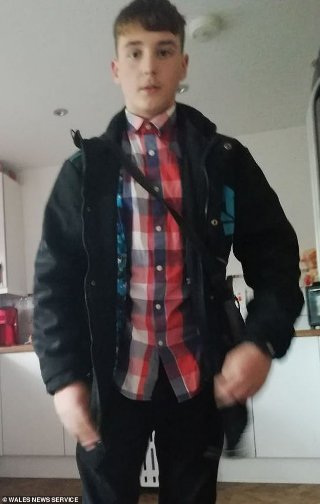 Harry has been missing for two days after failing to come home to his house in Blackwood, Gwent