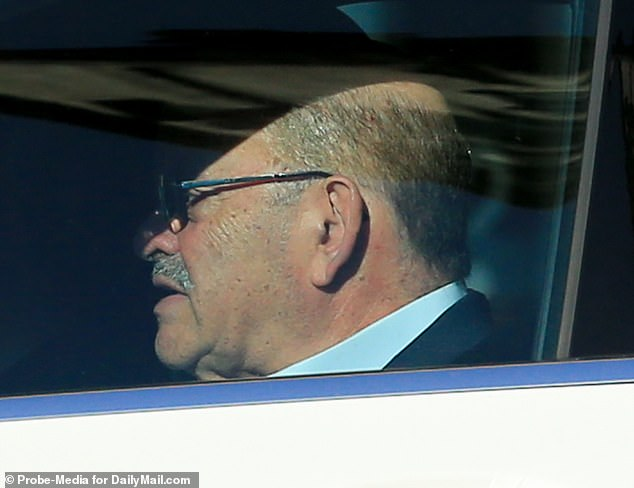 Allen Weisselberg, 73, is seen on Tuesday morning heading to work at Trump Tower. On Wednesday it emerged that he has been indicted. He is expected in court on Thursday