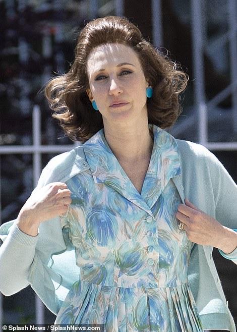Mother knows best:Vera Farmiglia takes on the role of Livia in the prequel