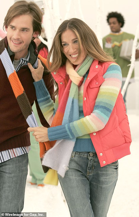 Sarah Jessica Parker and Will Kemp in a 2004 Gap advert
