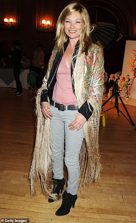 Kate Moss at the launch of Stella McCartney x Gap in 2010