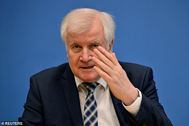 Horst Seehofer condemned UEFA's decision to allow larger crowds as irresponsible and accused the European football governing body of being motivated by money