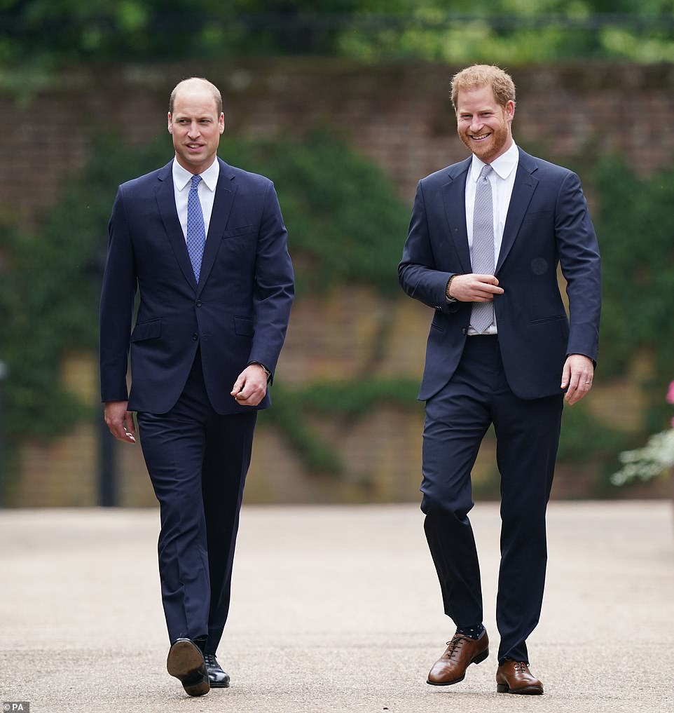 On Thursday Harry and William put their bitter personal animosity to one side for just over an hour to honour, Diana, Princess of Wales