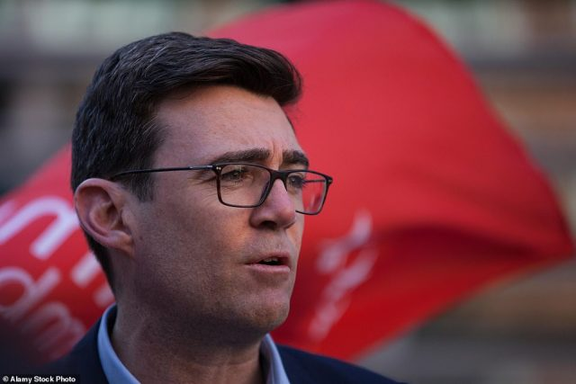 Polling published yesterday suggested that 69 per cent of Labour members would prefer Andy Burnham as leader, despite the Greater Manchester Mayor no longer being an MP and therefore unable to immediately challenge Sir Keir