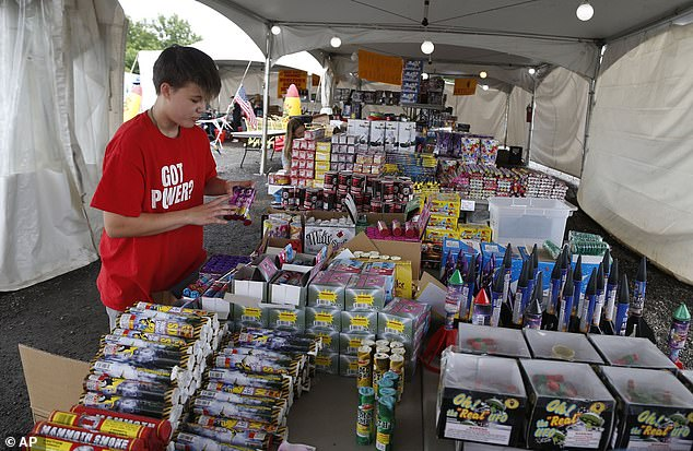 Physicians recommend that people leave firework shows up to the professionals instead of doing them themselves at home