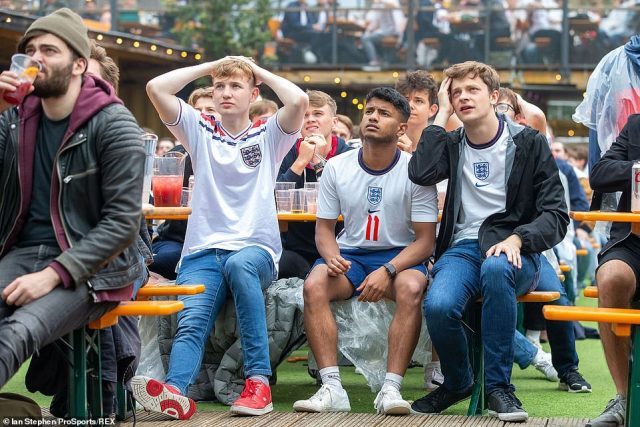 However, for many England fans living in the UK, they have been left disappointed by Italy's Covid rules