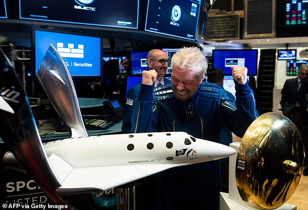 Bezos had already announced in June that he would be heading to space on July 20 alongside his brother on Blue Origin's New Shepherd spacecraft, but Branson now appears to have him beat by nine days