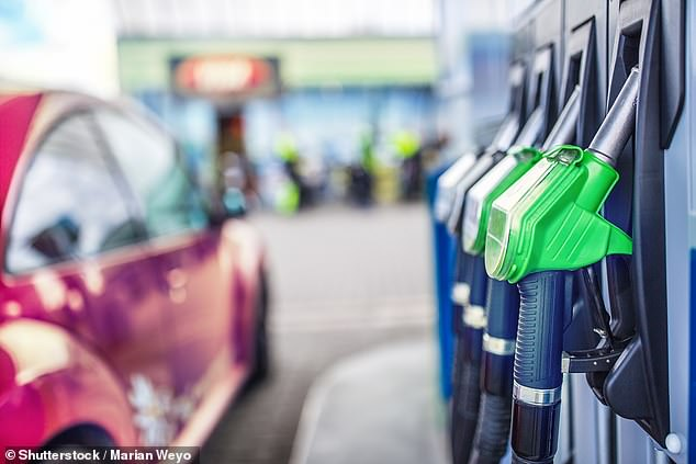 Eight-year high for petrol prices: The RAC says average unleaded prices have risen for eight consecutive months and is now 18p-a-litre more expensive than in November 2020