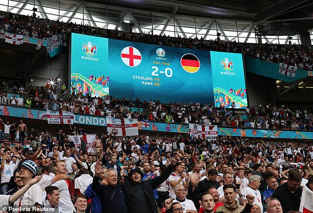 England broke their hoodoo against the Germans and dumped them out the tournament