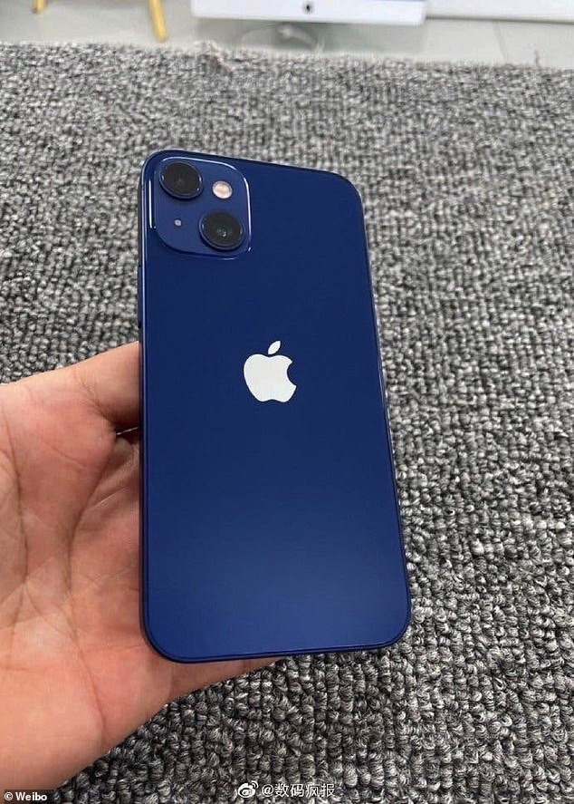 The next iPhone will allegedly have a lower aperture, which allows more light to enter— good for creating a nice depth of field and shooting under lower light. Pictured: A purported iPhone 13 Mini prototype