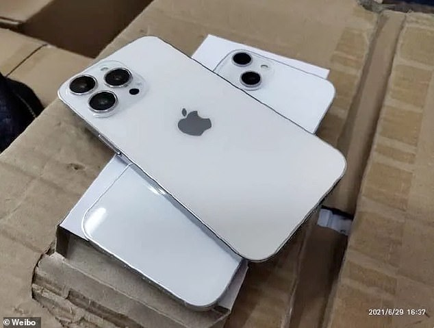 Photos purported to be of dummy units of the upcoming iPhone 13 surfaced on Weibo this week. They indicate the camera will have a larger 'bump' anddiagonal lens