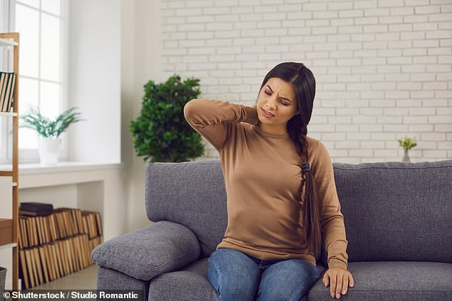 Start with your sitting position: sit on a chair with your feet flat on the floor, back straight (not leaning on the back of the chair) and your ears roughly in line with your collarbone. If that feels really unnatural, or is hard to maintain, then, like me, you have work to do