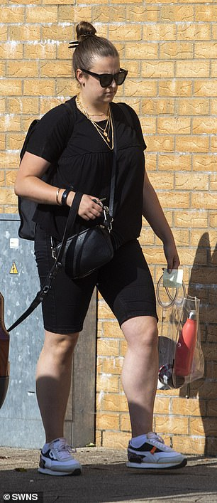 MailOnline can reveal that Melissa, 27, (pictured) is trying to rebuild her life - single again after splitting from the backpacker boyfriend Gary Stafford who visited her in jail