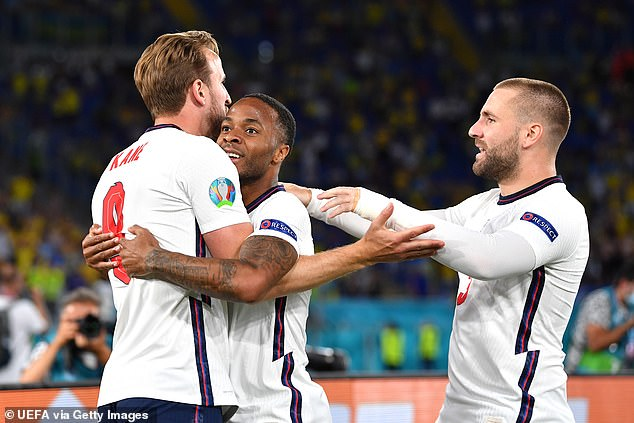 It was the sixth time Sterling has assisted Kane for England, the most by any Three Lions player this century