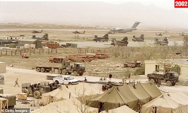 Bagram Airfield, once America's largest base in Afghanistan, was exited last week, leaving a small force of Afghan National Army soldiers to guard the base around 40 miles north of Kabul