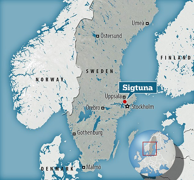 In Sigtuna north of Stockholm, archaeologists are conducting a survey of some of the 'Christian graveyard' from the late Viking age