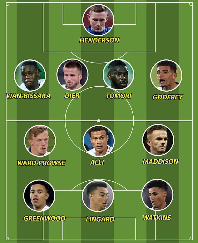 To show just how much talent England have right now, just look how good this B team would be
