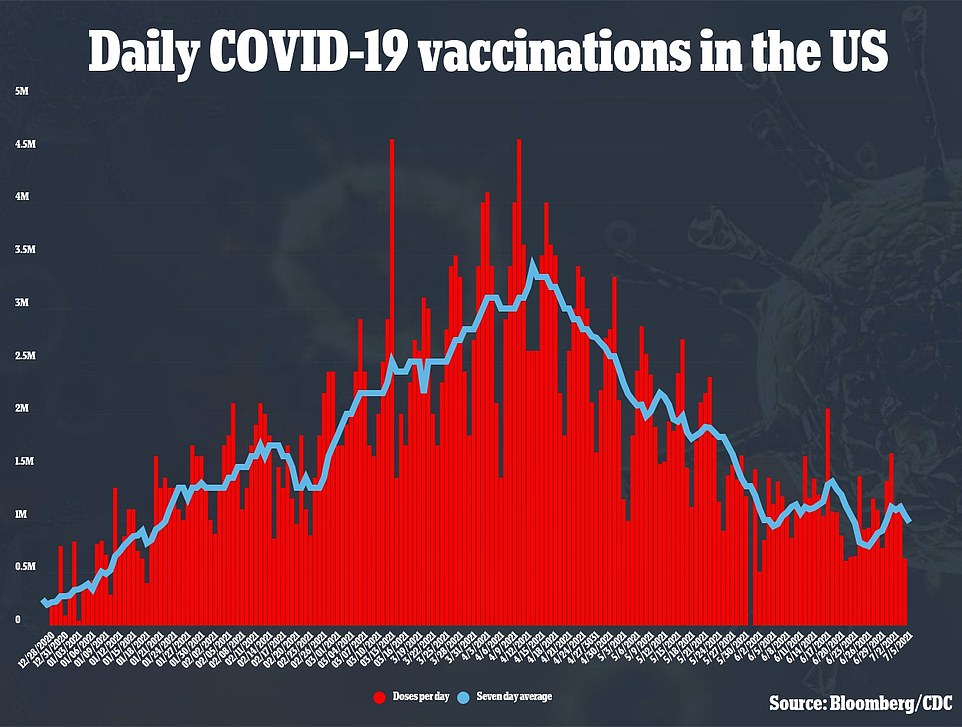 President Joe Biden will call for people to go door-to-door to spread the word about COVID vaccines after he fell short of his July 4 vaccination targets of 70% of adults with at least one dose as daily vaccinations plateau